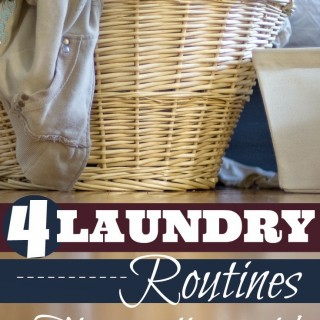 4 easy laundry routines
