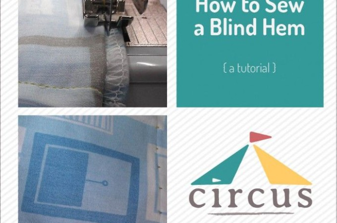 How to sew a blind hem & tons of other sewing tips! -- AndreasNotebook.com