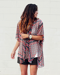 No Sew Kimono Tuturial