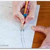 So many sewing hacks! - Simple way to add a seam allowance.