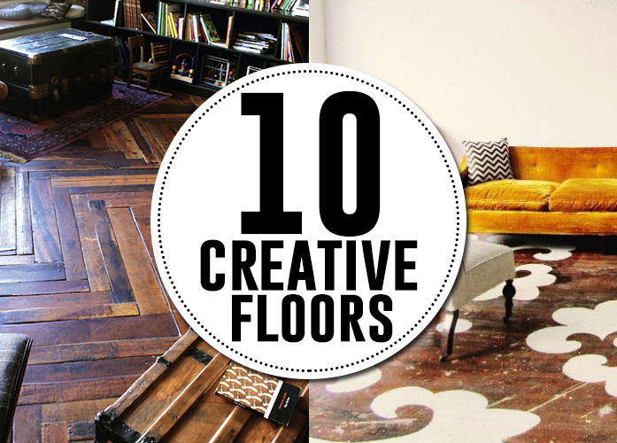10 creative flooring ideas to DIY