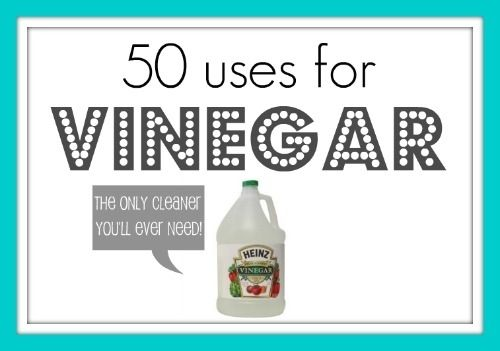 50 uses for vinegar!