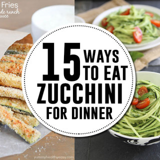 15 zucchini recipes