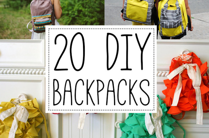 20 DIY backpacks