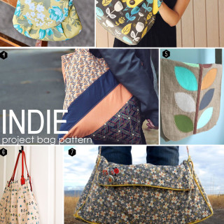 10 FREE bag pattern tutorials