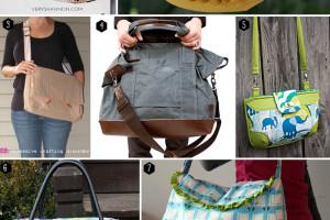 40 fabulous free bag pattern tutorials!