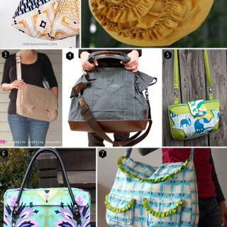 10 more free bag pattern tutorials