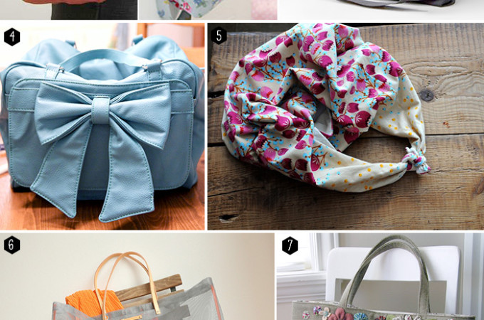 40 free bag pattern tutorials!