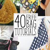 40 bags to sew!