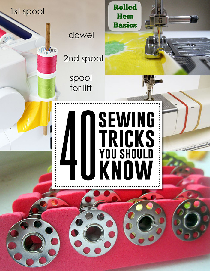 More Sewing Hacks Amp Tips Andrea S Notebook