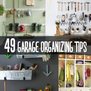 49 garage organizing tips