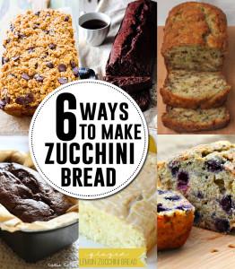 6 ways to make zucchini bread - AndreasNotebook.com