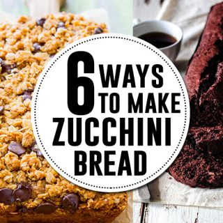 6 zucchini bread recipes