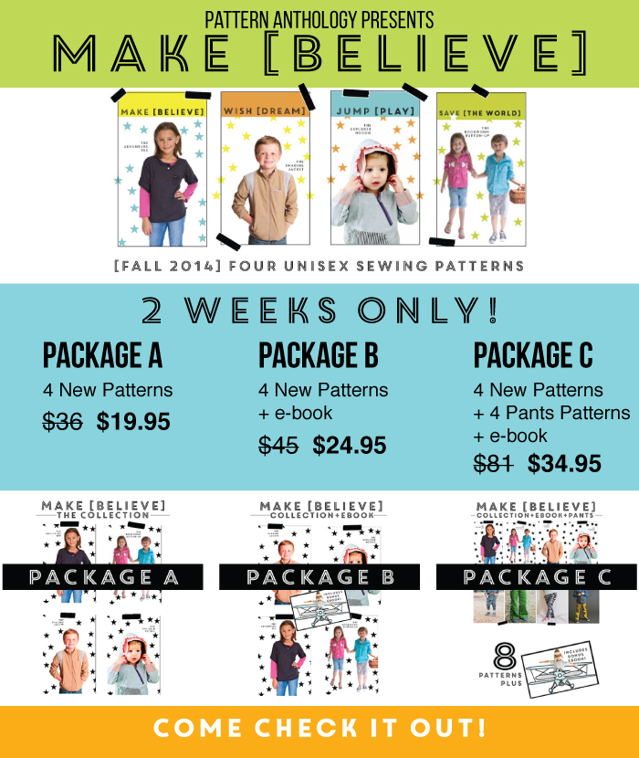 Amazing deal on the MAKE [BELIEVE] collection! Come see all the details!