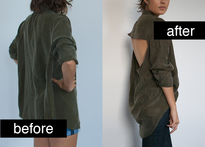 Fantastic shirt DIY refashion