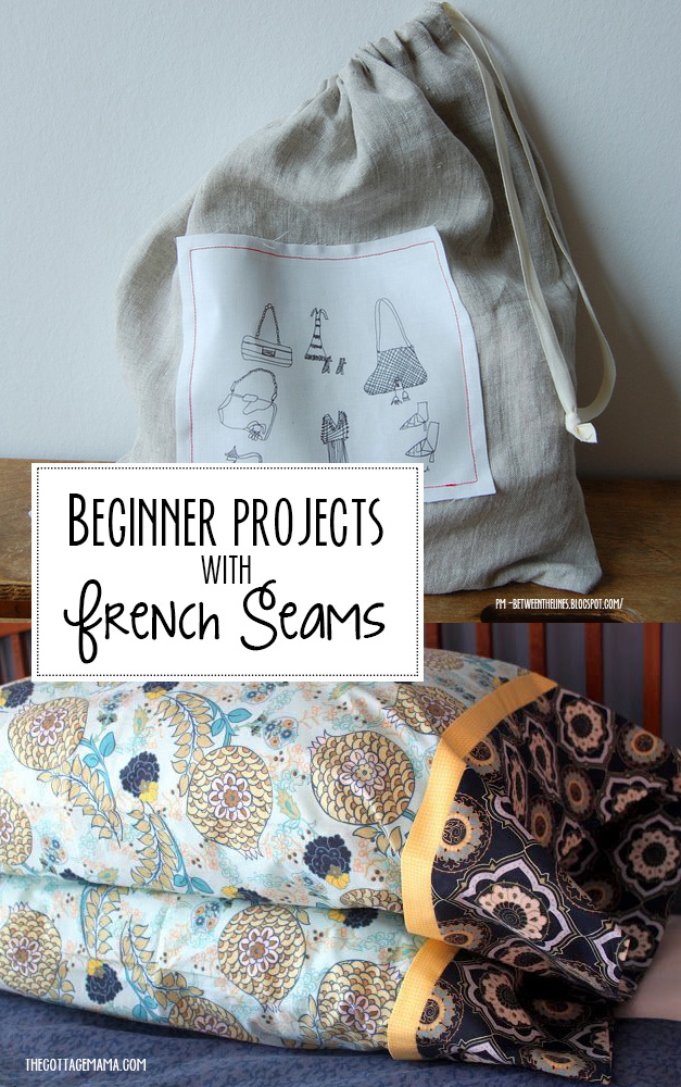 Learn to sew french seams with