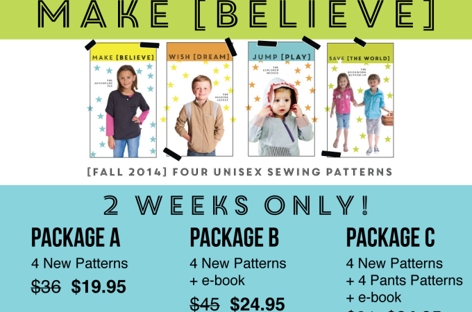 New sewing patterns out! Get the sale while it's available!