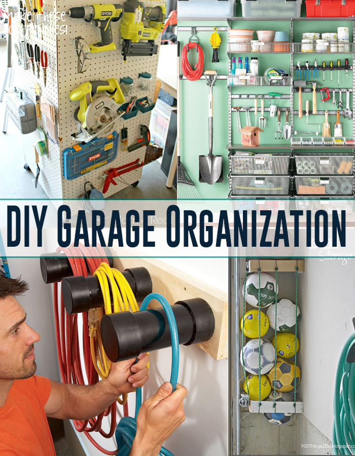 DIY Garage Organization Andreas Notebook