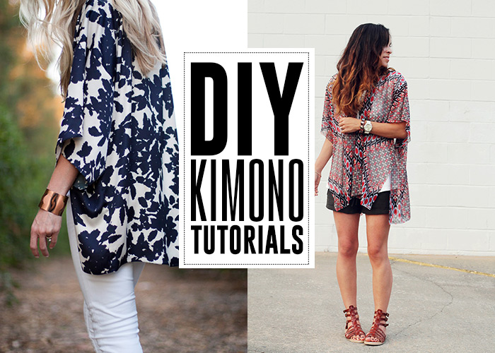 DIY Kimono Tutorials - Andrea's Notebook