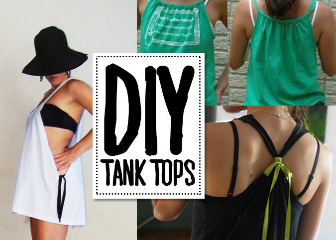 DIY tank tops