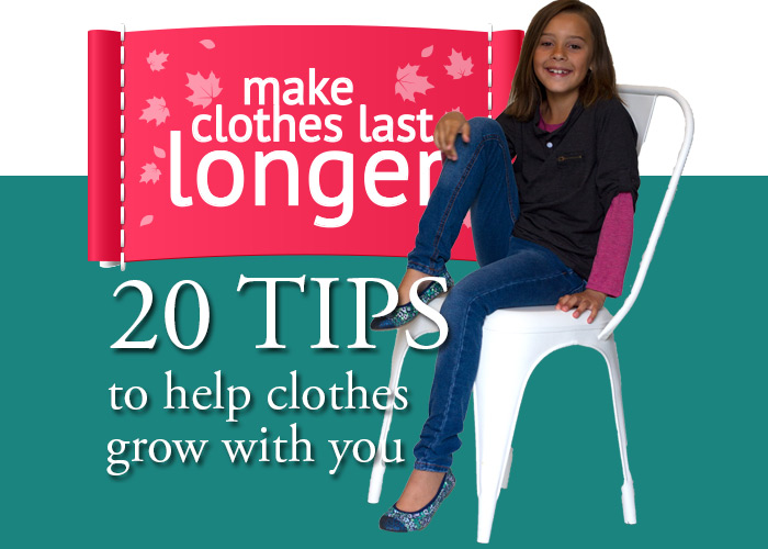 20 tips to help you extend the life of clothes!