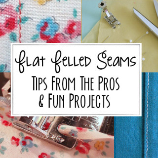 how to sew flat felled seams