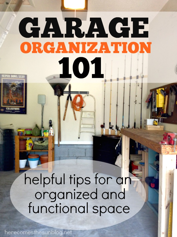 Garage organizing ideas andrea s notebook