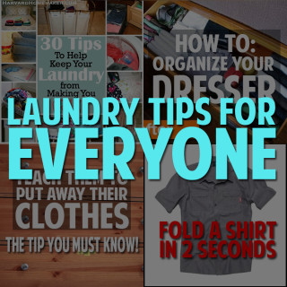 Amazing laundry tips