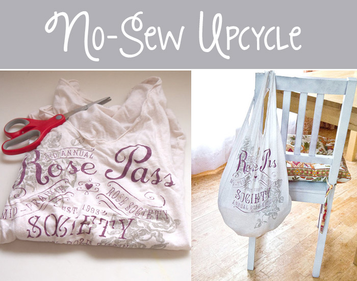 no-sew grocery bag tutorial