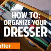 5 tips for organizing your dresser