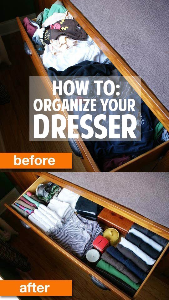 How To Organize Dresser Drawers Tips