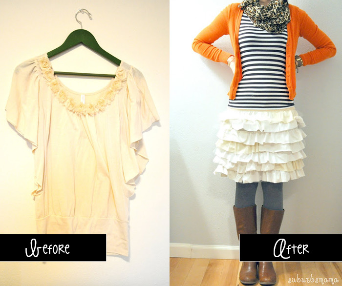 15 easy t shirt upcycle ideas t shirt to skirt upcycle solutioingenieria Image collections
