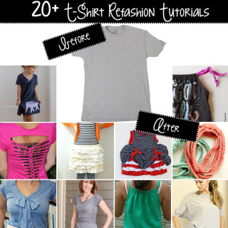 T-Shirt Upcycle Tutorials