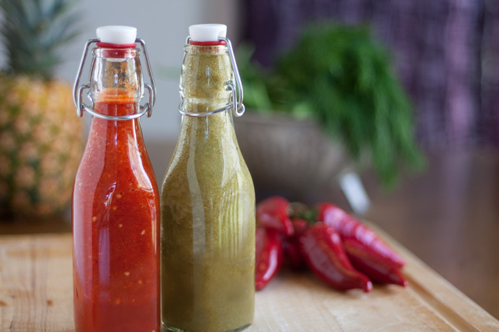 Make your own hot sauce!