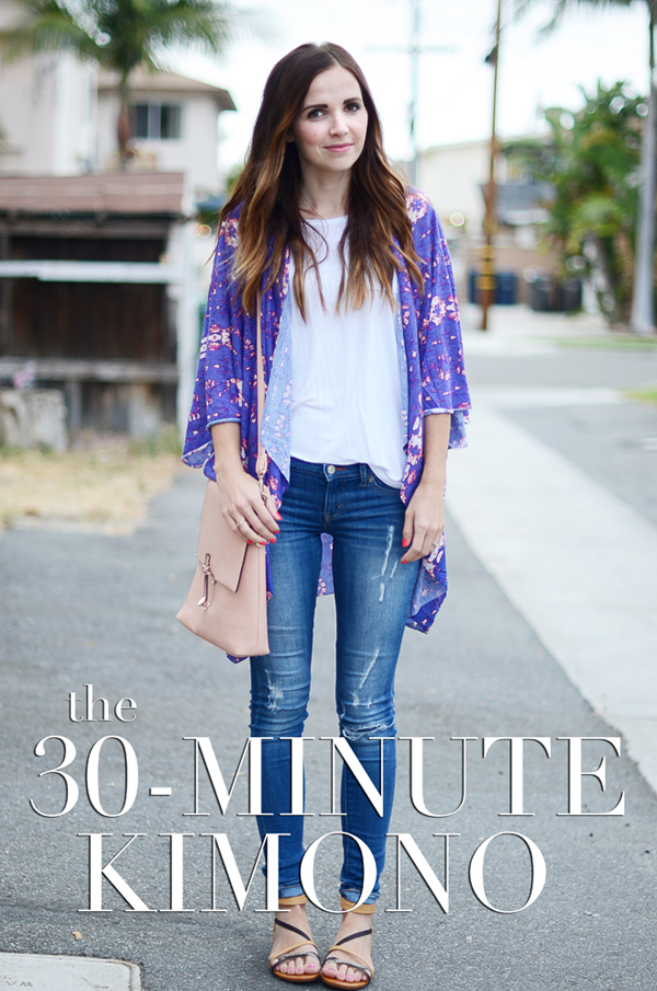 TUTORIAL: 30 minute kimono by Merrick's Art
