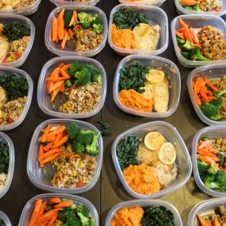 Single serving fix ahead meals