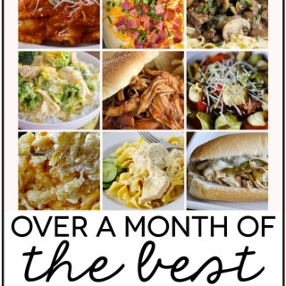 30 days of slow cooker recipes