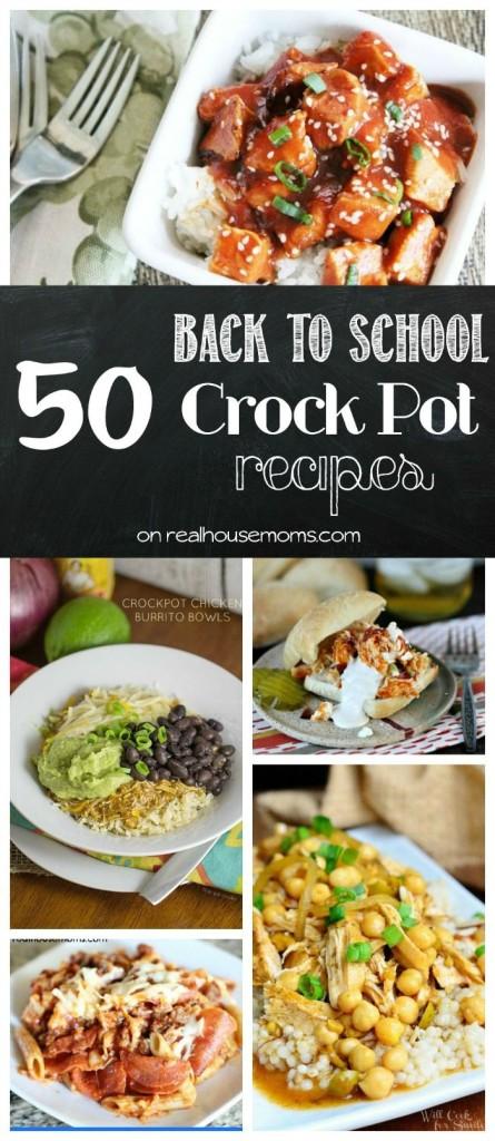 Tons of great crock pot recipes!