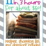 Wow! Great deal! 11 meals in 3 hours.