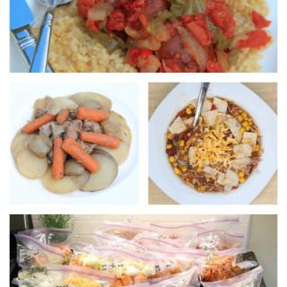 20 gluten free freezer meals