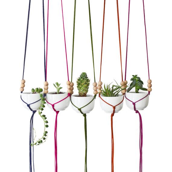 modern macrame hangers