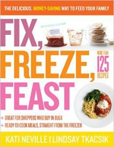 Fix, Freeze, Feast! Great reviews on Amazon.