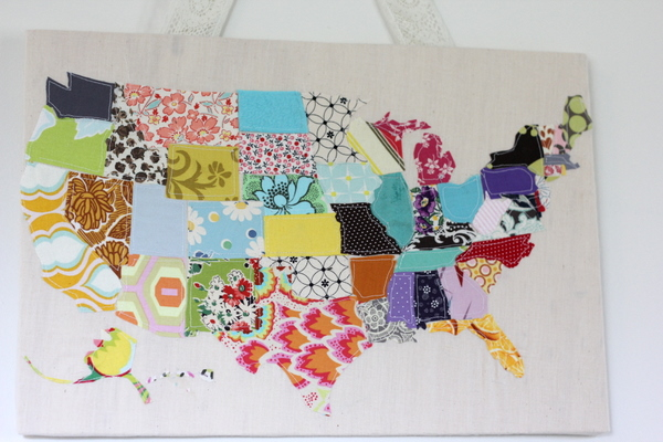 Learn how you can make this scrap map!
