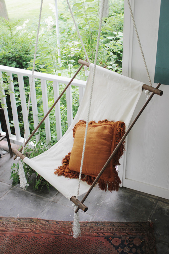 Awesome DIY hanging chair
