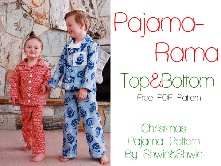 20 FREE sewing patterns! AndreasNotebook.com