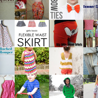 20 FREE sewing patterns for kids' clothes
