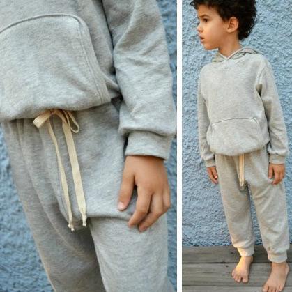 Free retro sweats pattern by E&E