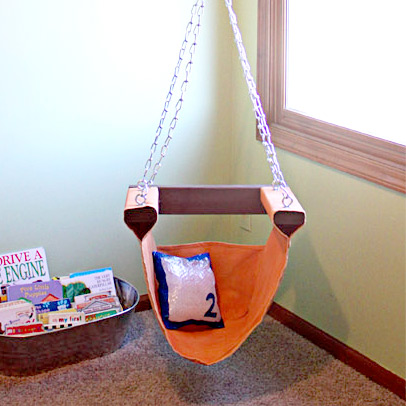 Cute DIY reading nook chair