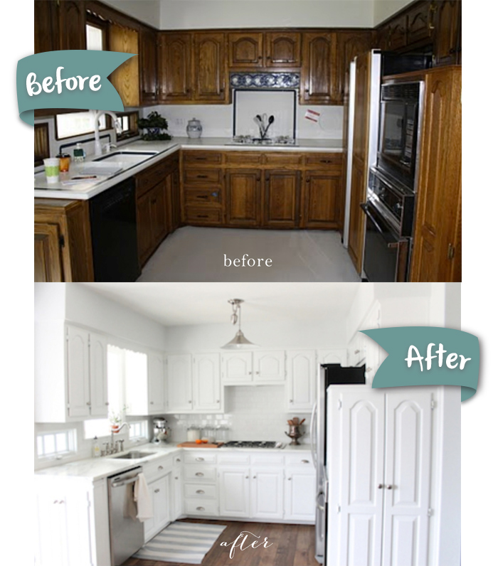 Bright Classic Kitchen Makeover