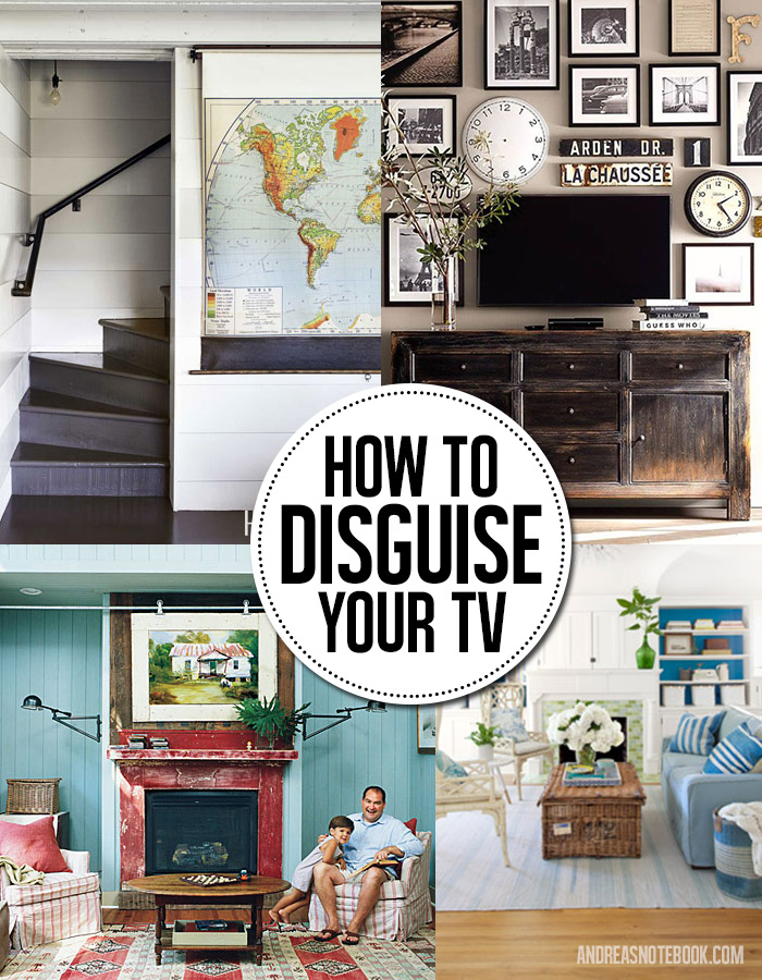 8 genius ways to disguise and hide your tv